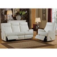 Amax Toledo 2 Piece Leather Living Room Set