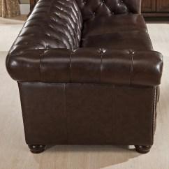 Pee Kensington Leather Sofa Rowe Sleeper Amax Top Grain Chesterfield And