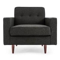 Kardiel Eleanor Mid Century Modern Arm Chair   Wayfair