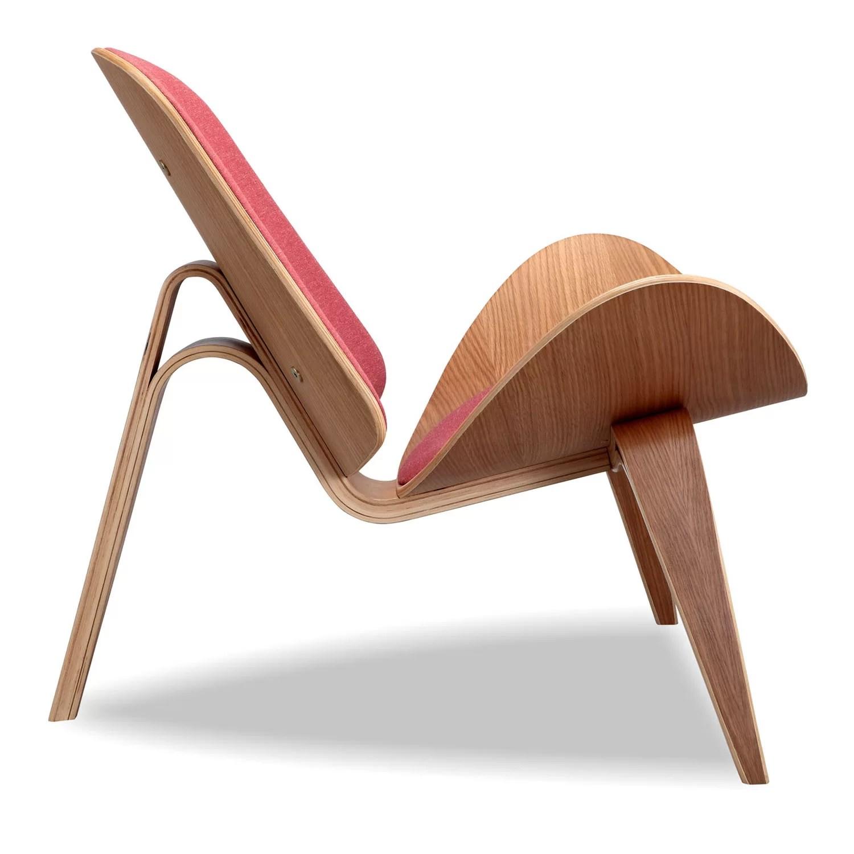 Kardiel Tripod Plywood Modern Lounge Chair Amp Reviews Wayfair