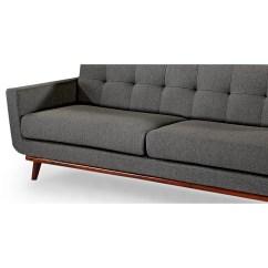 Modern Retro Sofa And Loveseat How To Clean Microfiber Stains Kardiel Jackie Mid Century Vintage Reviews