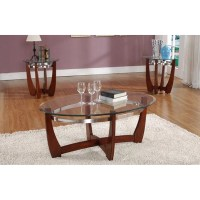 Living In Style Cheryl 3 Piece Coffee Table Set & Reviews ...