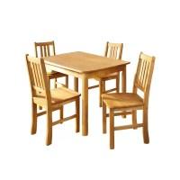 Hokku Designs Maine Dining Table and 4 Chairs | Wayfair UK