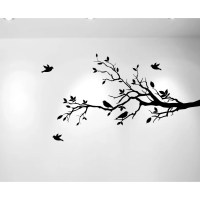 Innovative Stencils Tree Branches with Leaves and Love