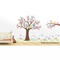 Wall Decal Source Tree and Owl Nursery Wall Decal | Wayfair