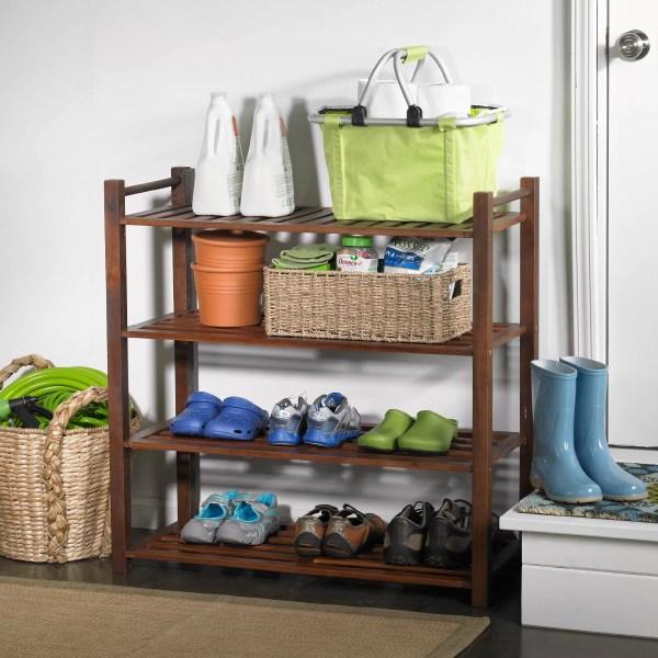 Latitude Run Outdoor 4-tier Shoe Rack &