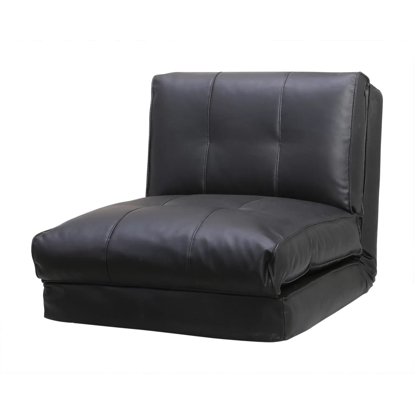 Convertible Chair Sleeper Latitude Run Balmoral Single Sleeper Convertible Chair