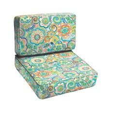 1 Piece Patio Chair Cushions Cedar Adirondack Chairs Canada Latitude Run Beatrice 2 Outdoor Cushion Set