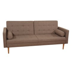 Victoria Clic Clac Sofa Bed Review How To Repair Torn Leather Mercury Row Gaius 3 Seater And Reviews