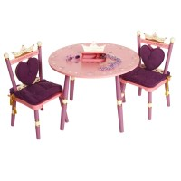 Levels of Discovery Princess Kids' 3 Piece Table and Chair ...