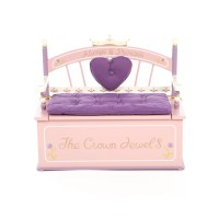 Levels of Discovery Princess Kids Bench with Storage ...