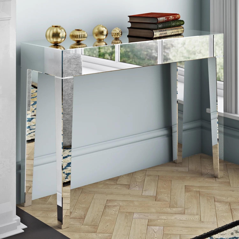 fairmont sofa table slot together park morion console and reviews wayfair uk