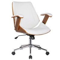 Porthos Home Noah High-Back Office Chair with Arms ...