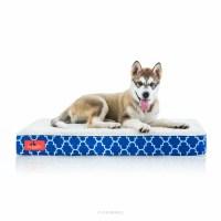 Brindle Waterproof Designer Memory Foam Pet Bed & Reviews ...