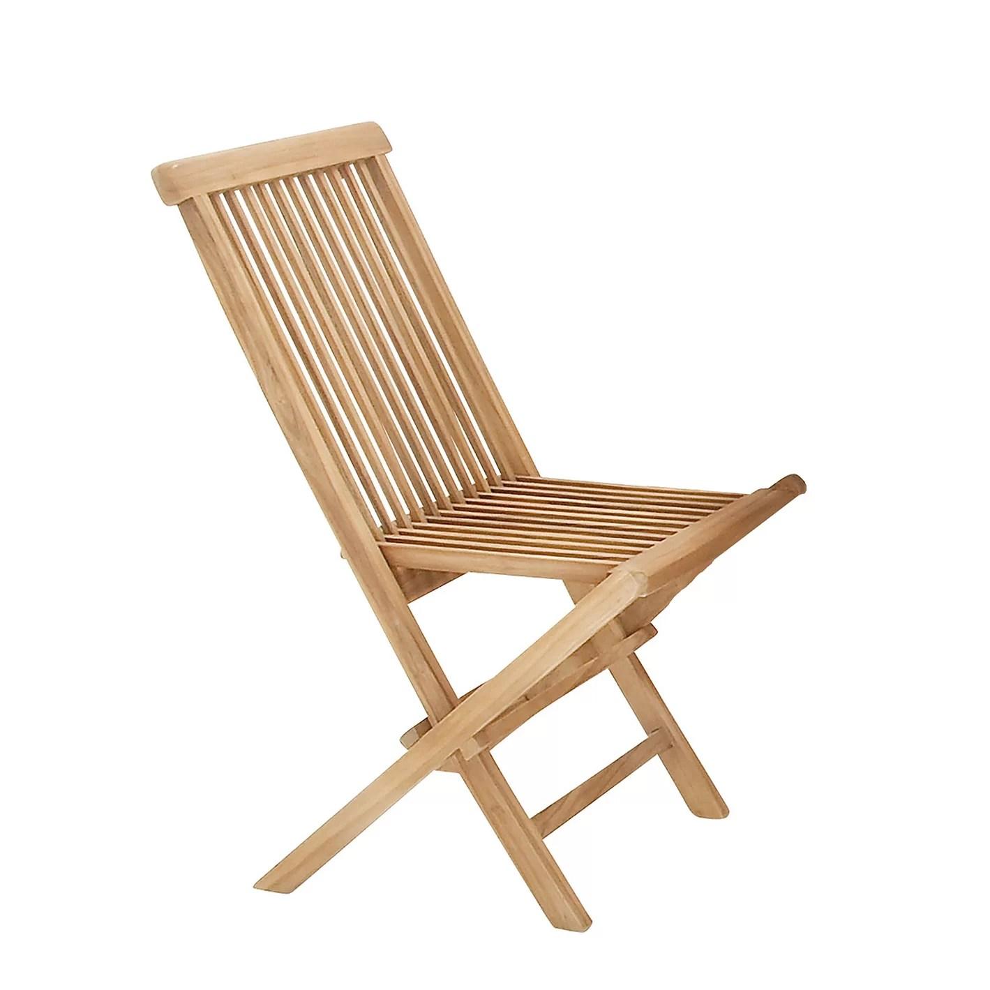 teak folding chair silver dining room chairs urban designs wood 5 piece set