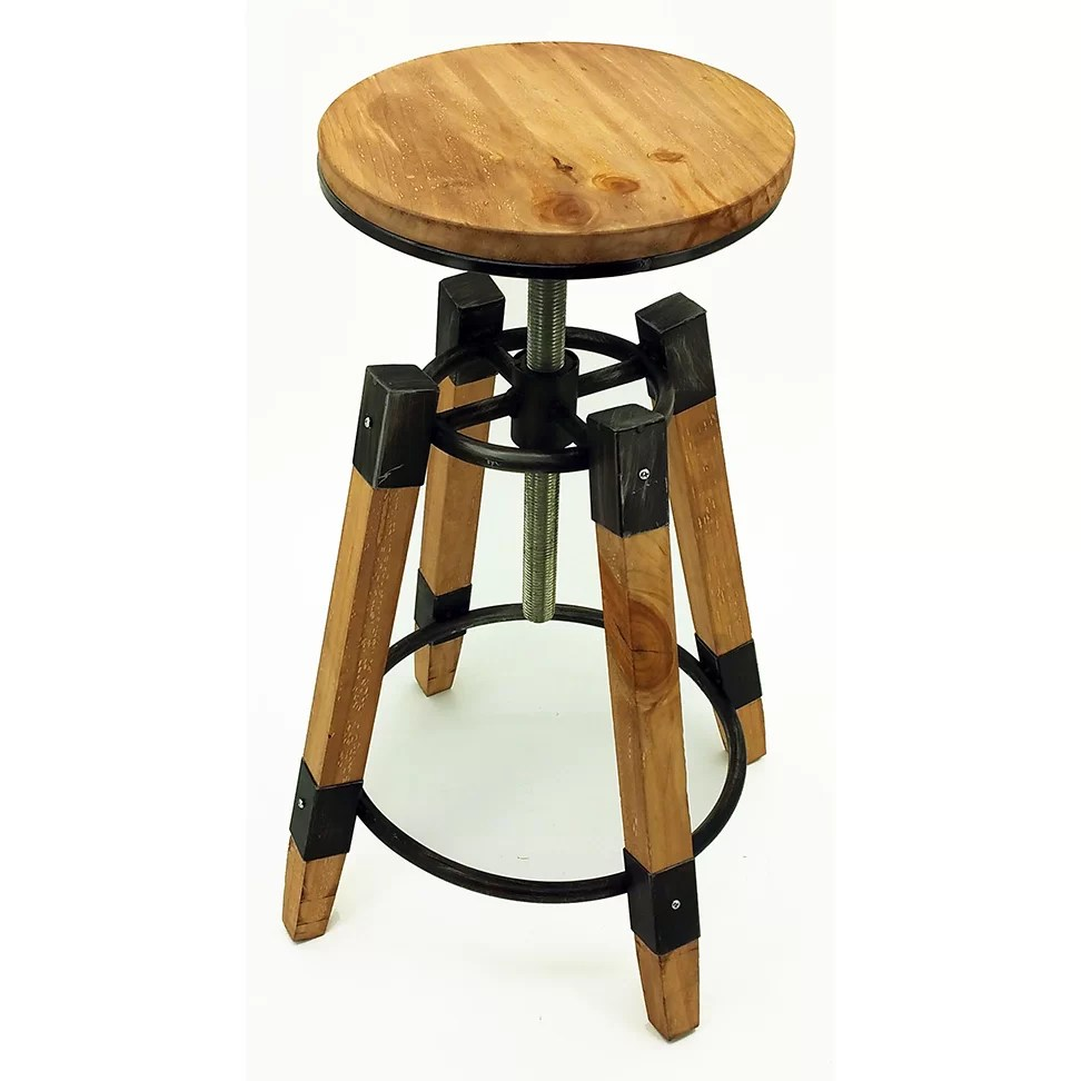 Vandue Corporation Adjustable Height Swivel Bar Stool