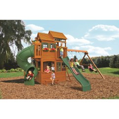 Costco Kitchen Play Set Cabinets Wholesale Prices Cedar Summit Shelbyville Deluxe Wooden Swing And Reviews