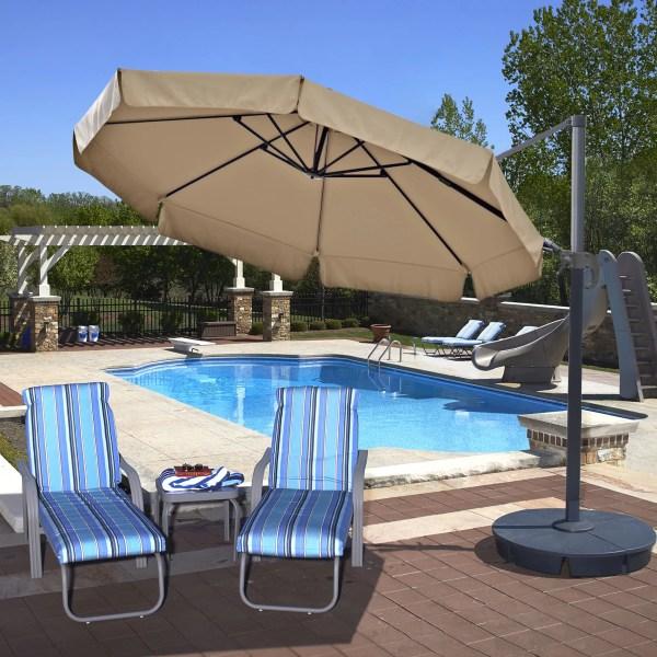 Island Umbrella 11' Freeport Cantilever &