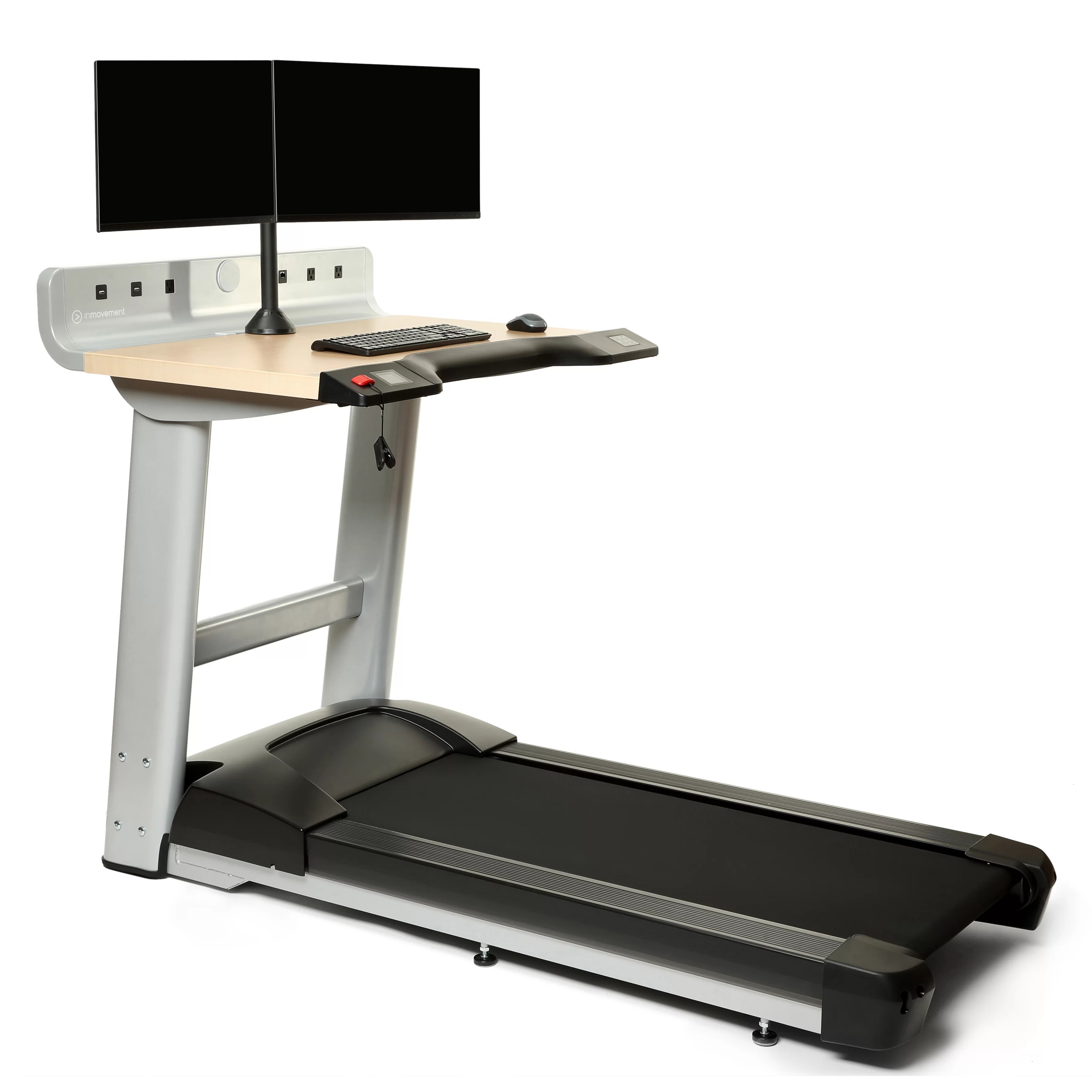 InMovement Standing Desk with Treadmill  Wayfairca