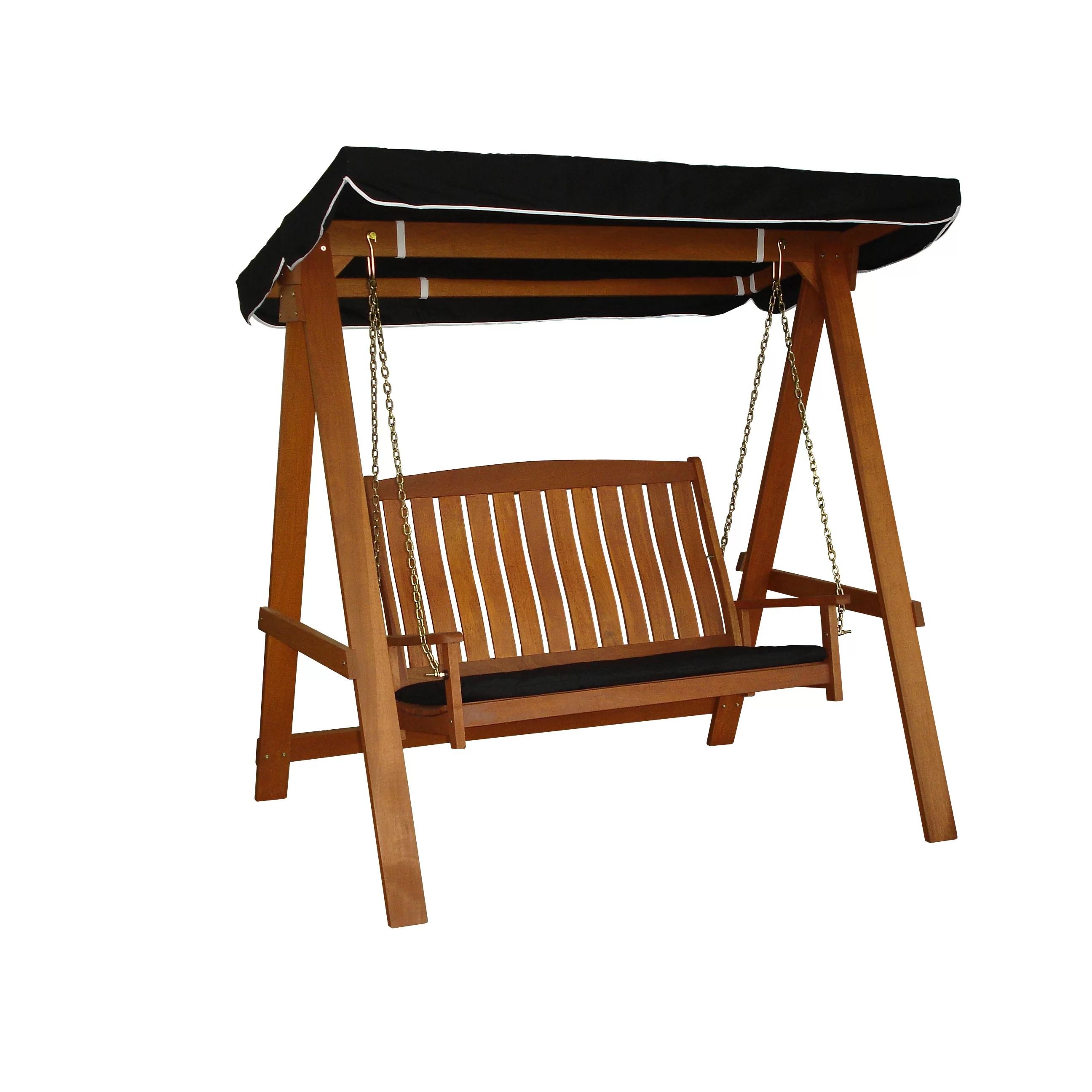 swing chair tesco hanging indoor ceiling lautan avoca 2 seat porch and reviews wayfair