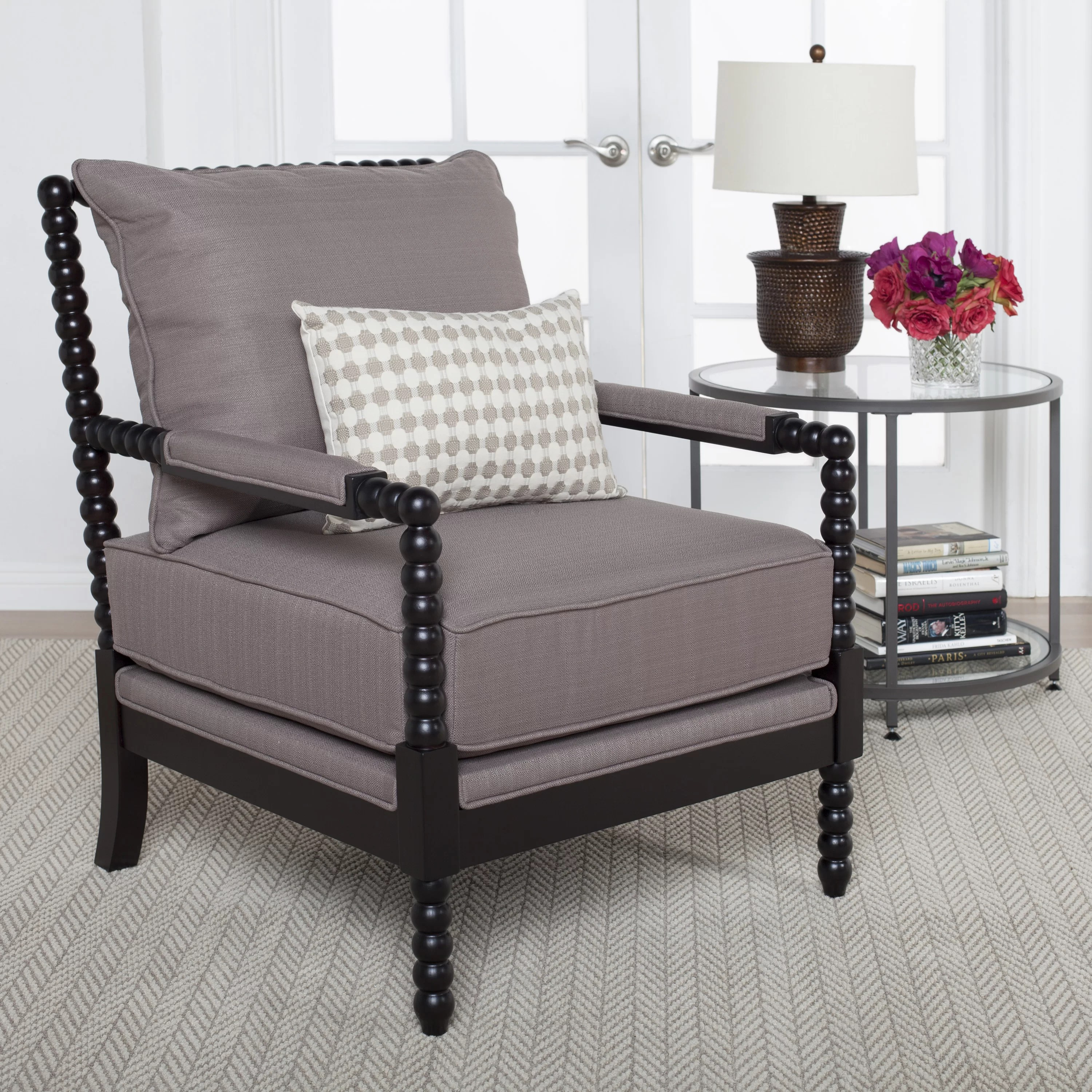 Spindle Arm Chair Studio Designs Home Colonnade Spindle Arm Chair And Reviews