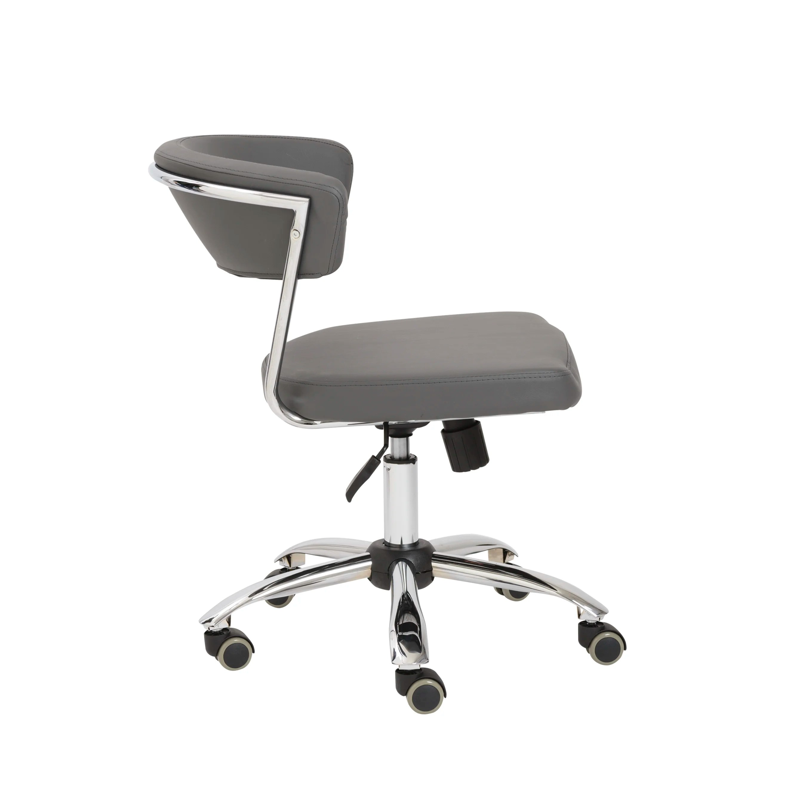 office chair review cushioned eurostyle draco leather and reviews wayfair