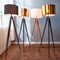 "VERSANORA Romanza 60.23"" Tripod Floor Lamp & Reviews | Wayfair"