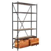 "TaranDesigns Colorado 84"" Etagere Bookcase | Wayfair"