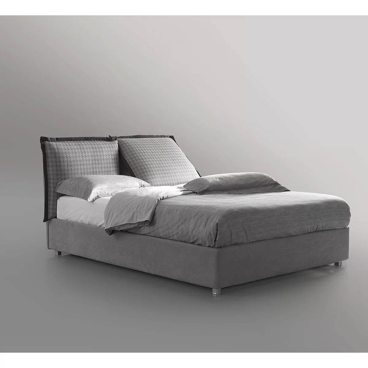 Respace King Upholstered Storage Platform Bed
