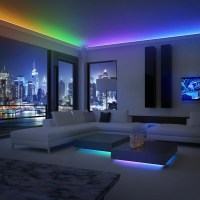 "Sorbus Music LED 197"" Under Cabinet Strip Light | Wayfair"