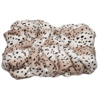 Chanasya Leopard Print Super Soft Cozy Sherpa Throw ...