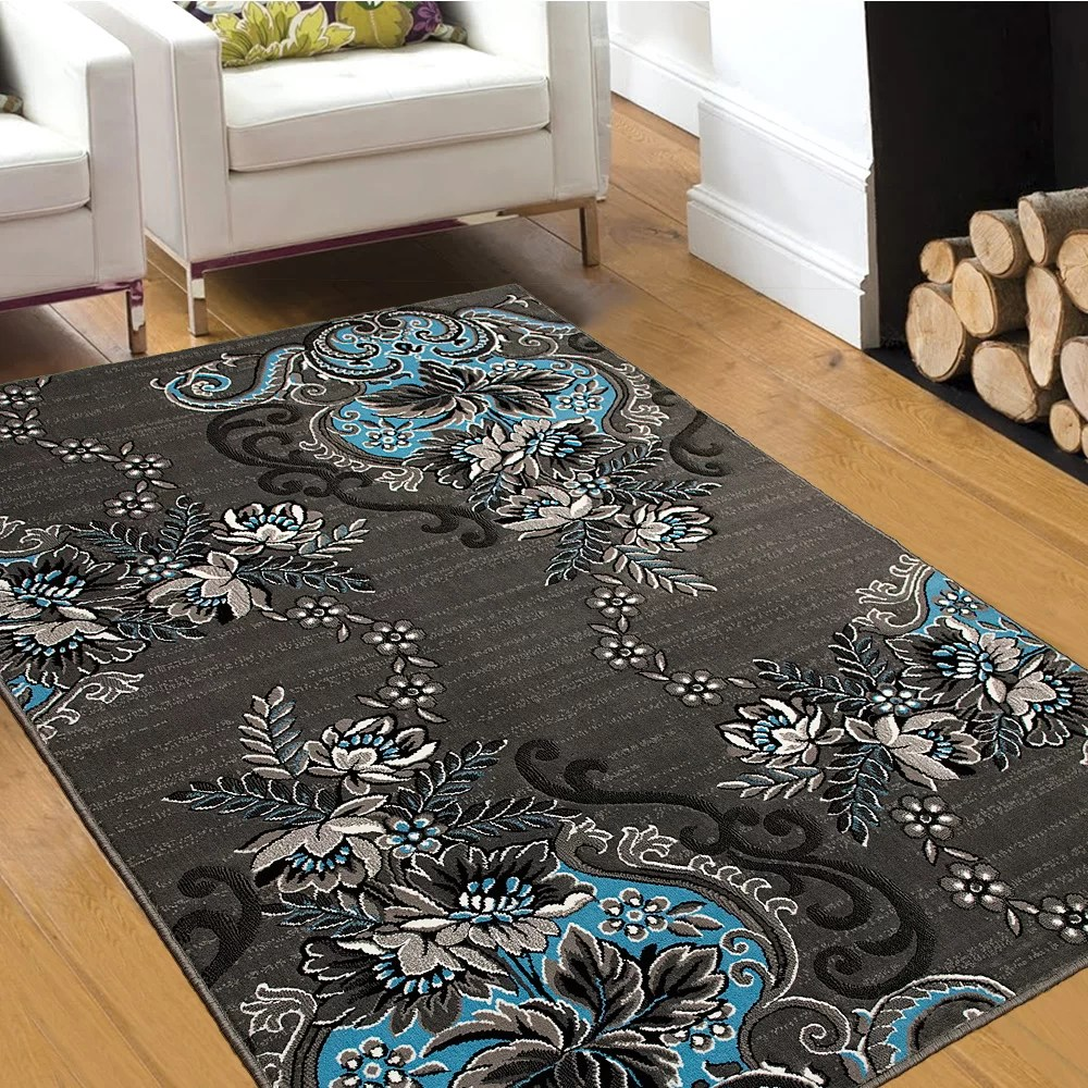 AllStar Rugs BlueGray Area Rug  Reviews  Wayfair