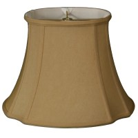 "RoyalDesigns 17"" Timeless Silk Oval Lamp Shade 