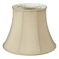 "RoyalDesigns 14"" Regal Silk Bell Lamp Shade & Reviews"