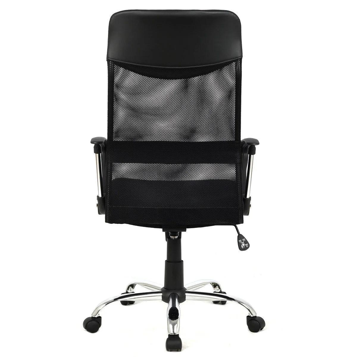 desk chair high brown bean bag thornton 39s office supplies back mesh wayfair