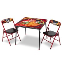 DeltaChildren Mickey Folding Children 3 Piece Square Table ...