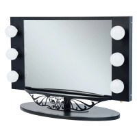 Vanity Girl Hollywood Starlet Lighted Vanity Mirror ...