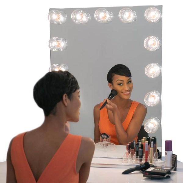 Infinity Mirror Vanity Girl Hollywood