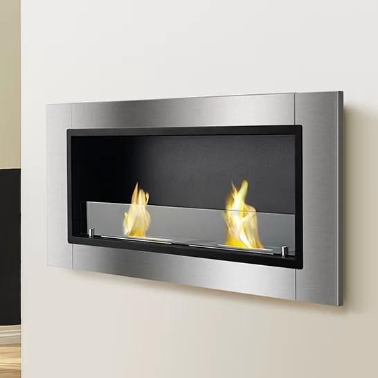 Ignis Lata Wall Mount Ethanol Fireplace