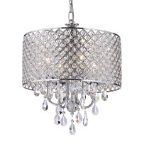 Edvivi Marya 4 Light Drum Chandelier