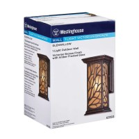 Westinghouse Lighting Glenwillow 1 Light Outdoor Wall ...