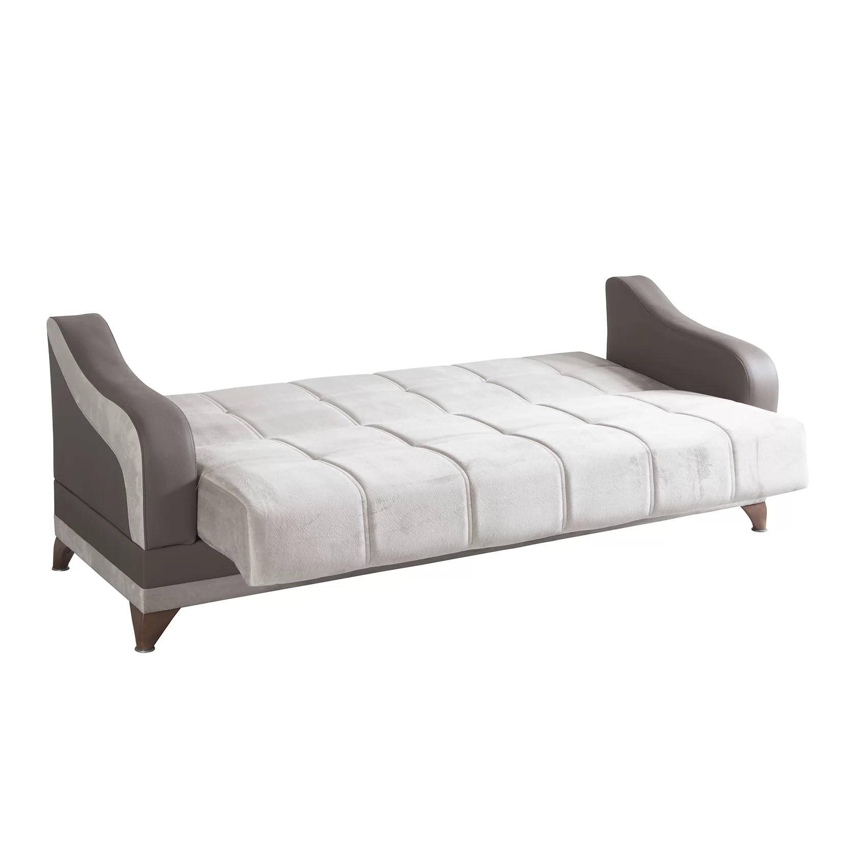 Convertible Chair Sleeper Synchomedesign Elif 3 Seater Convertible Sleeper Sofa