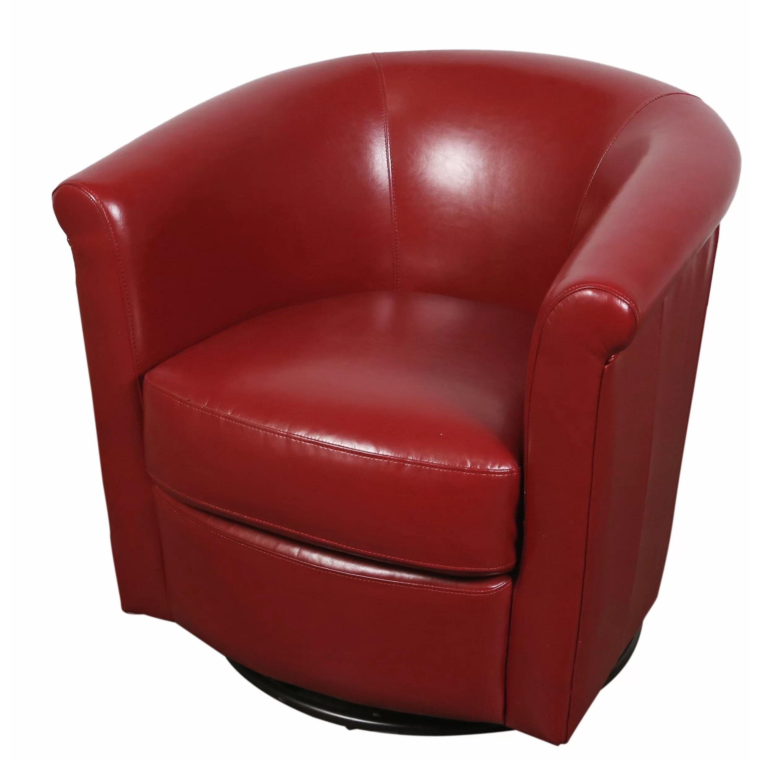 Porter International Designs Marvel Swivel Barrel Chair