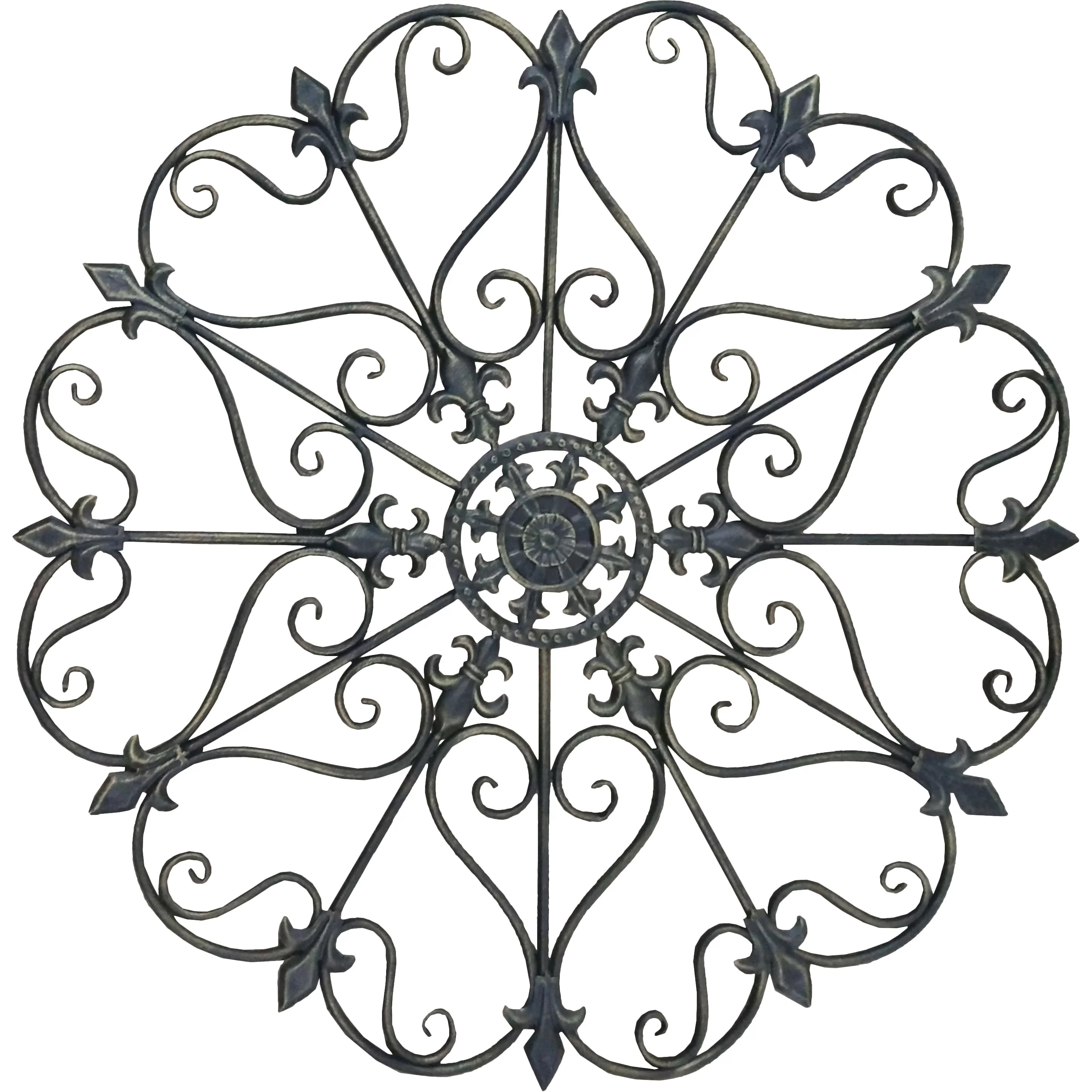 Rayes Imports Crafted Wrought Iron Wall Decor & Reviews
