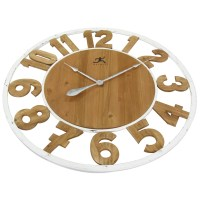 "Laurel Foundry Modern Farmhouse Oversized 32"" Wall Clock ..."