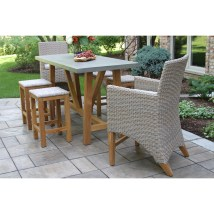 Laurel Foundry Modern Farmhouse Dimont Teak And Wicker 7