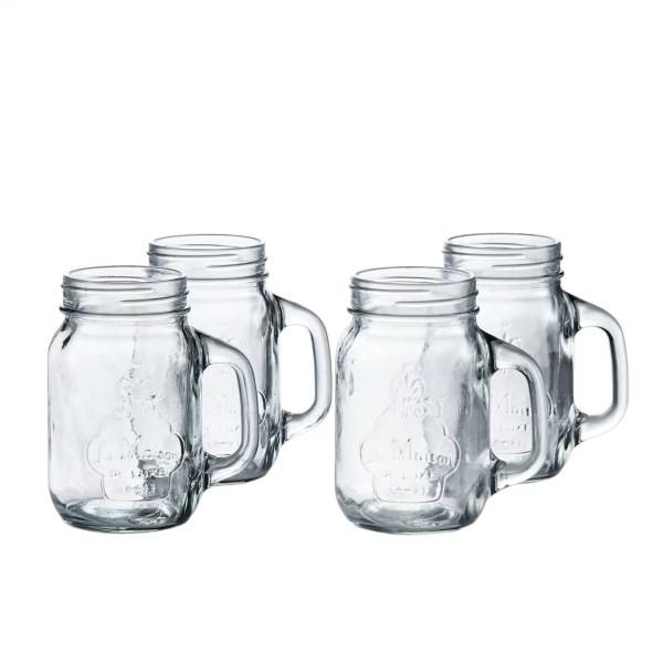 Laurel Foundry Modern Farmhouse Hatton 16 Oz. Mason Jar And Straw &