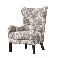 Modern Wing Chair Oak Dining Table And Chairs Gumtree Laurel Foundry Farmhouse Grangeville Swoop Wingback