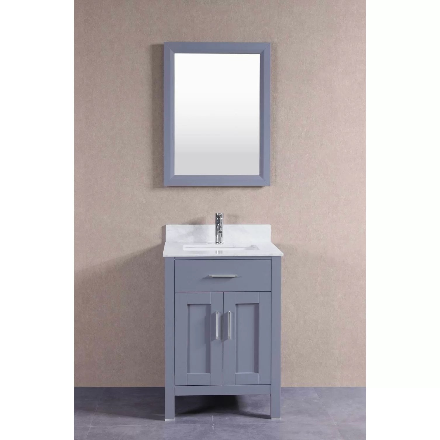 BelvedereBath 24 Single Bathroom Vanity Set  Wayfair