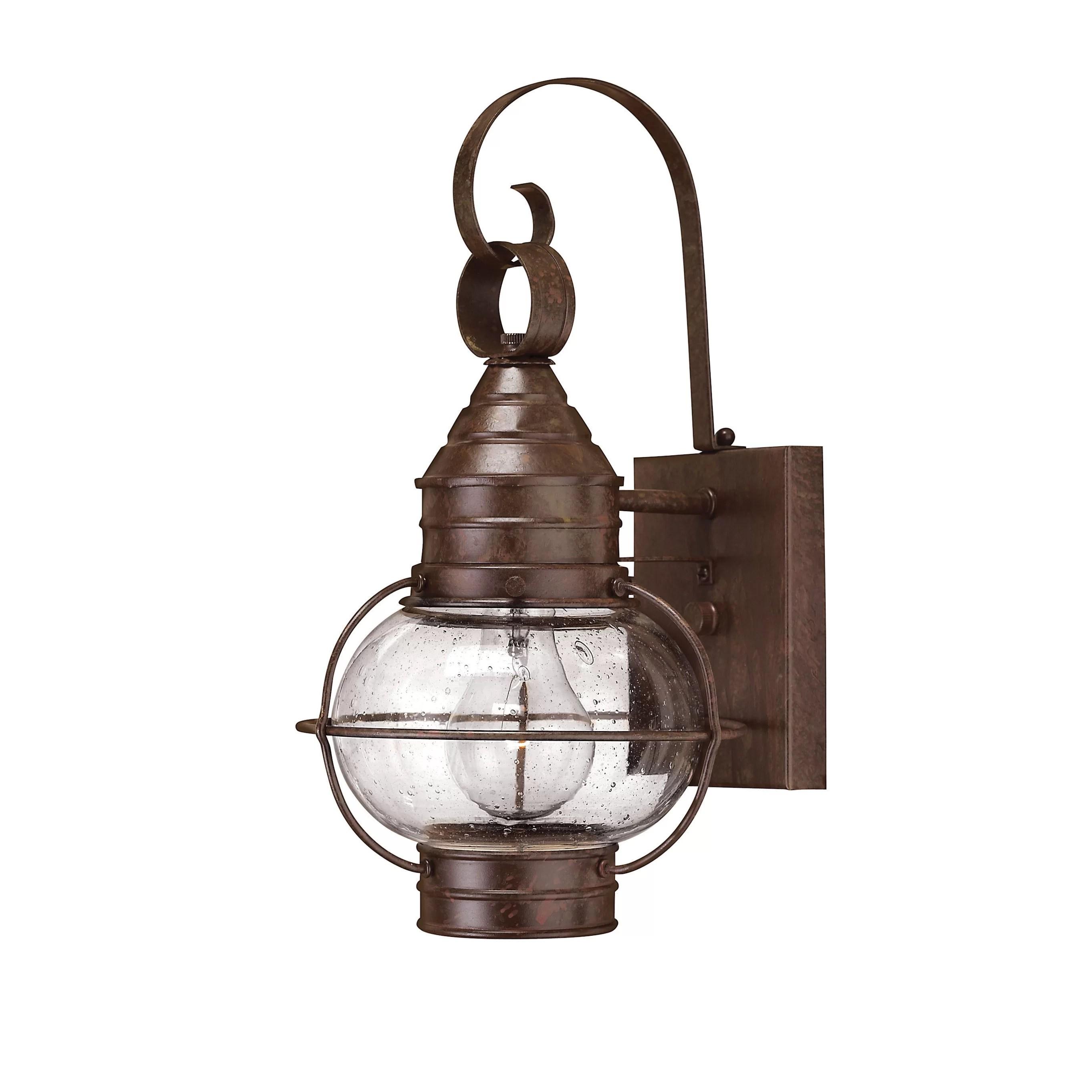 Hinkley Lighting Cape Cod 1 Light Outdoor Wall Lantern